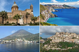 Excursions around Sicily