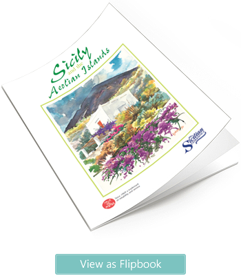 Sicily, Ustica and the Aeolian Islands brochure from The Sicilian Experience